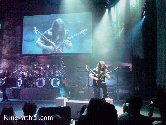 Dream Theater on Stage at The Tower Theater
